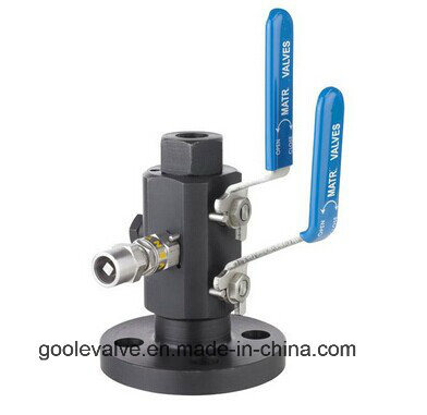 Double Block and Bleed Ball Valve (GADBB41F) pictures & photos