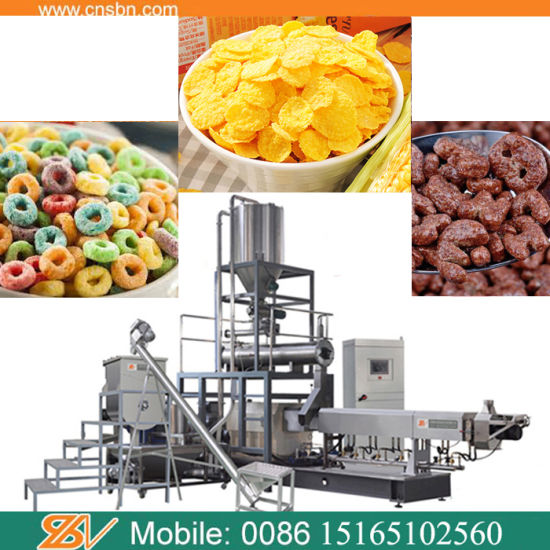 Puffed Stick Crispy Corn Snacks Making Machine Production Line pictures & photos