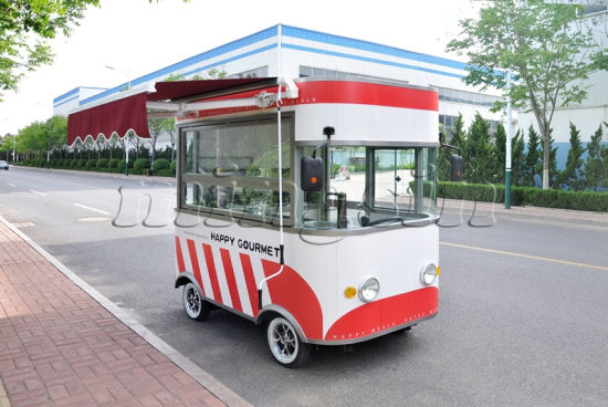 China Ce Approved Ice Cream Selling Mobile Kitchen Truck for Sale ...