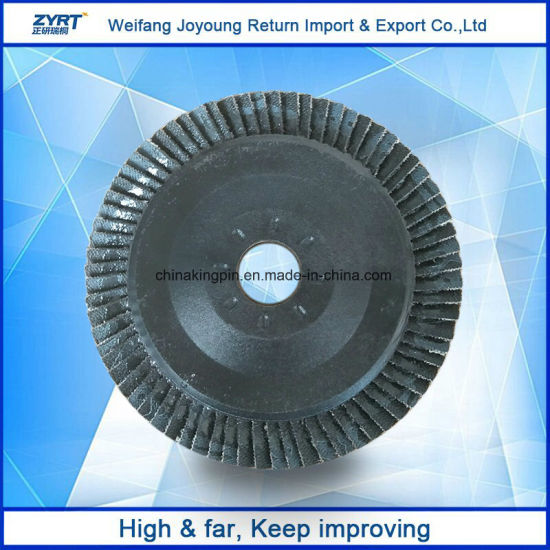 Zirconium Oxide Flap Disk with Plastic Backing Polishing for Metal pictures & photos