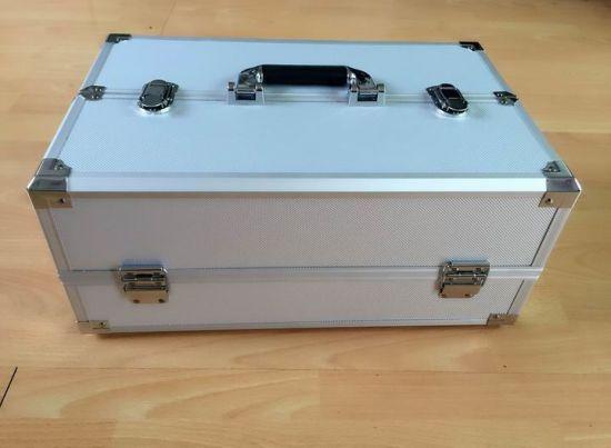 Keli Made High Quality Light Weight Aluminum Tool Case with Trays Inside (Keli-tray-02)