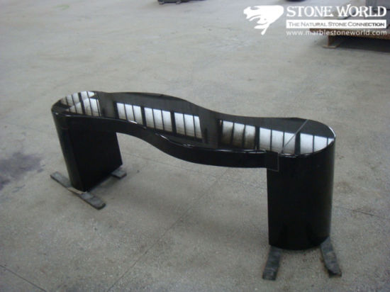 Chinese Green Granite Table, Granite Outdoor Stone Table and Chair pictures & photos