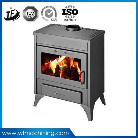 OEM Sand Casting Electric Fireplace of Home Moden Appliance pictures & photos