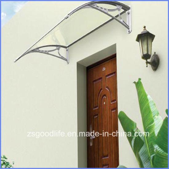 DIY Polycarbonate/PC Door Awning/Front Door Canopy