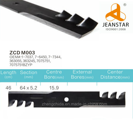Snapper Lawn Mower Blade Replacement/Zcd-Snapper-M003