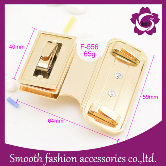 Wholesale Fashion Bag Hardware Twist Metal Lock for Handbag Accesories pictures & photos