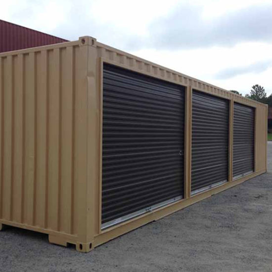 China 3 Roller Shutter Door Self Storage Shipping Container China