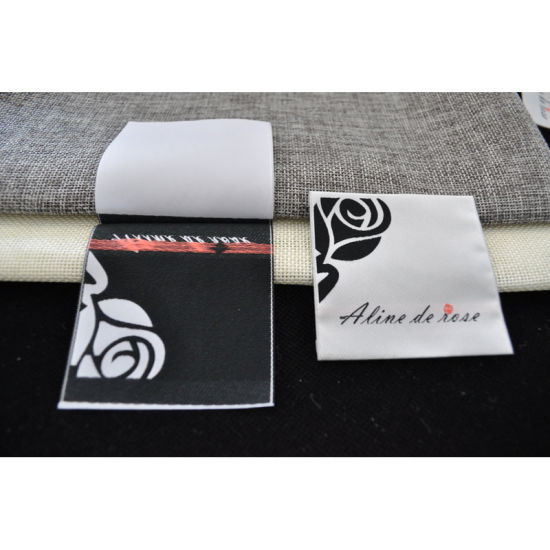 Factory Manufacture Custom Garment Woven Label pictures & photos