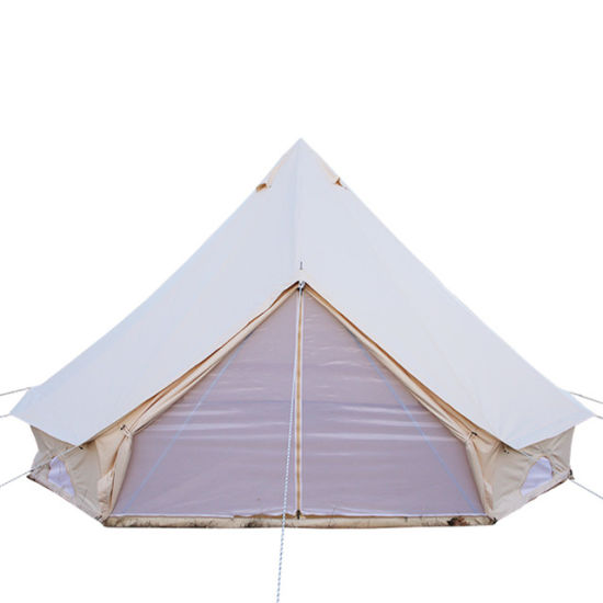 4 Season Waterproof Family Gl&ing Big C&ing Luxury Canvas Bell Tent  sc 1 st  Beijing Unistrengh International Trade Co. Ltd. & China 4 Season Waterproof Family Glamping Big Camping Luxury ...