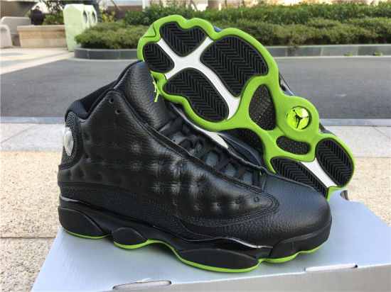 new concept 2ba82 5716d China 13s Mens Basketball Shoes Black Cat Men Sports ...