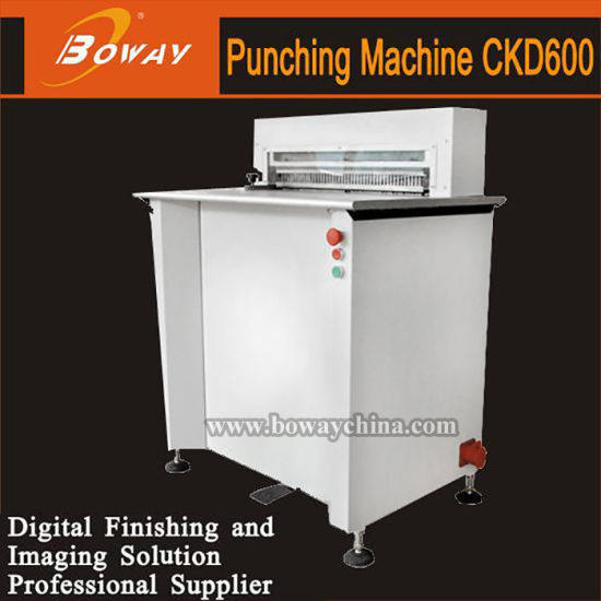 Heavy-Duty CKD600 Hole Punching Machine for Book Binding pictures & photos