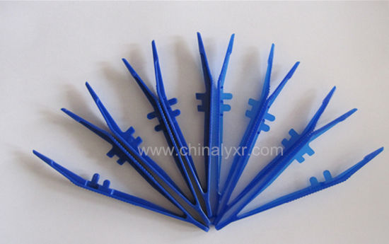 Disposable Medical Plastic Tweezers, Surgical Forceps pictures & photos
