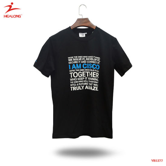 50e909a3d Healong Custom Good Quality Hot Sublimation Cool Fashion Top T Shirts  pictures & photos