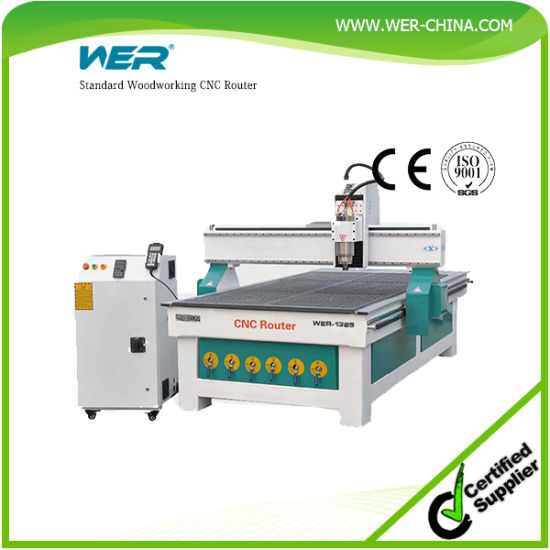All New Double-Process Woodworking CNC Router pictures & photos