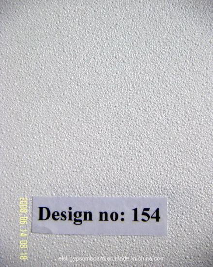 PVC Gypsum Ceiling Tile Perforated 154 996 238 Design