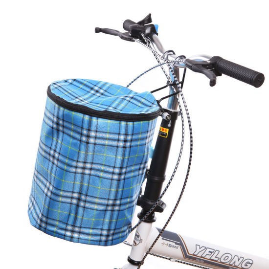 Front Bike Basket with Cover