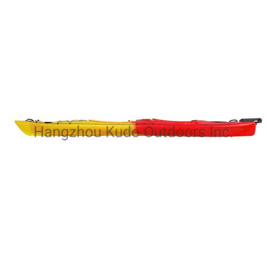 Kudo Deluxe Anti-UV LLDPE 520cm Double Sea Kayak with Rudder