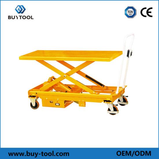 Electric Large Platform Mobile Scissor Lift Table