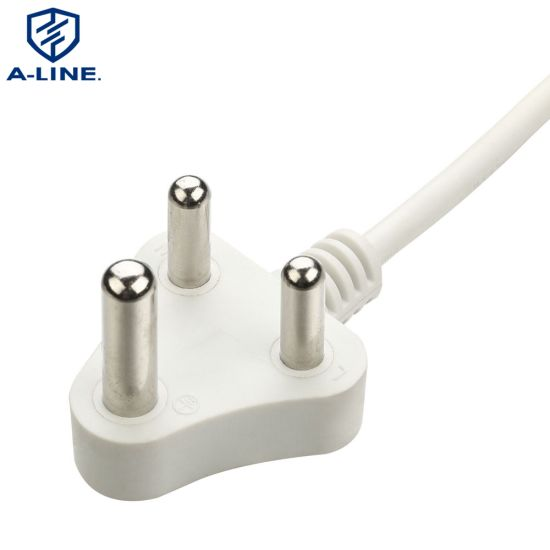 South Africa 3-Pin Power Cord (AL-217) pictures & photos