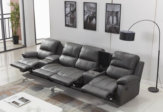 China Leather Electric Recliner Sofa Of, Electric Leather Sofa