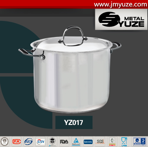 Heavy Gauge Stock Pot Set, Stainless Steel Casserole, Kitchen Utensils, Home Appliance pictures & photos
