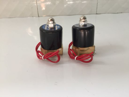 China Factory Supply Normal Closed Solenoid Valve for Water, Gas, Oil