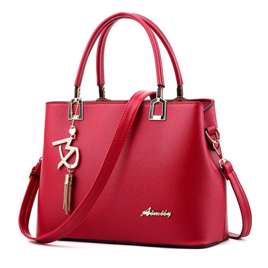 Fashion Design Ladies Handbag with High Quality pictures & photos