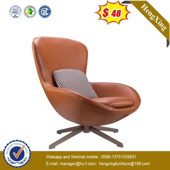 Factory Retro Indoor Wooden Leisure Chair with PU Cushion Aluminum Bench Chair pictures & photos