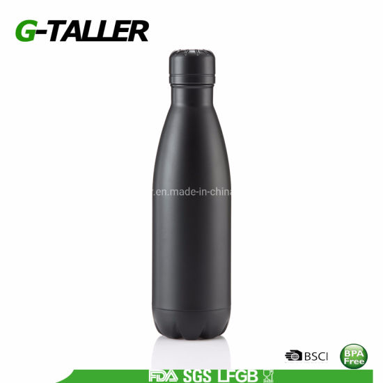 17oz Coka Shaped Stainless Steel Water Bottle