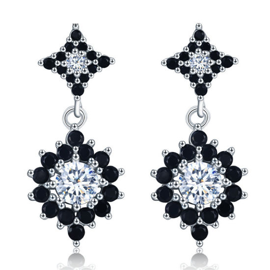 925 Silver Sterling Fashion Cubic Zircon Earrings Fine Jewelry pictures & photos