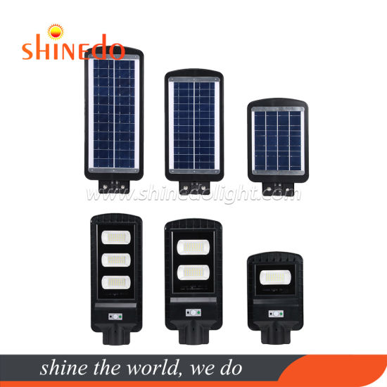 IP67 40/80/120 LED All in One Solar Motion Sensor Pathway Flood Street Light with Remote Control