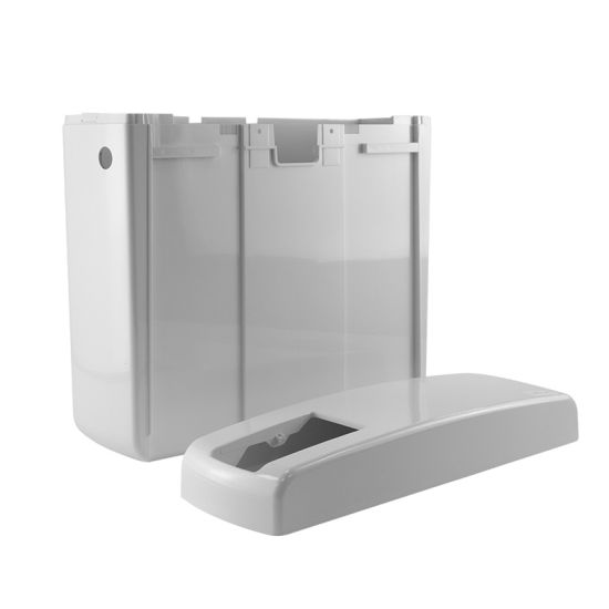 China Customize PP Plastic Injection Mold for Dual Flushing Cistern