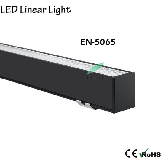 4FT 40W 5065 Seres LED Linear Light Linkable LED Architectural Suspended Linear Channel Light