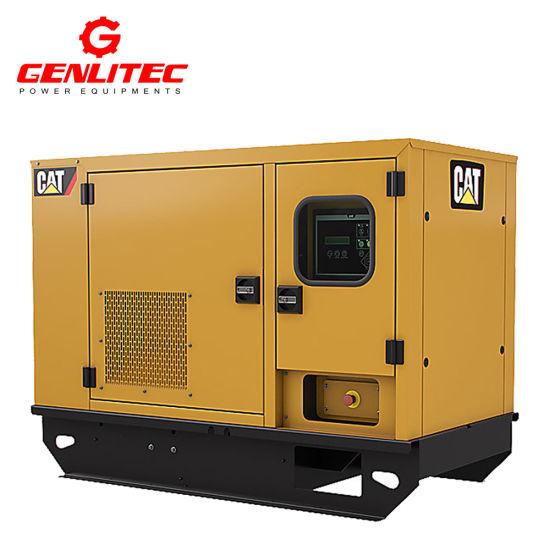 China Water Cooled 10kVA Portable Cat Caterpillar Diesel Generator