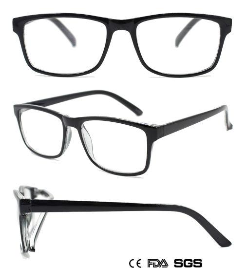 All-Black Reading Glasses for Both Men and Women (M75649)