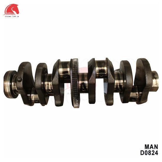 Man D0824 Truck Diesel Engine Parts Crankshaft