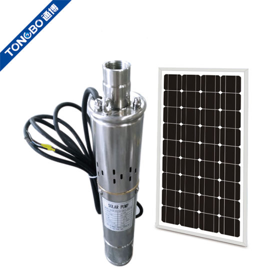 DC 24V Submersible Water Pump Solar Water Pump Deep Well Stainless Steel 200W US