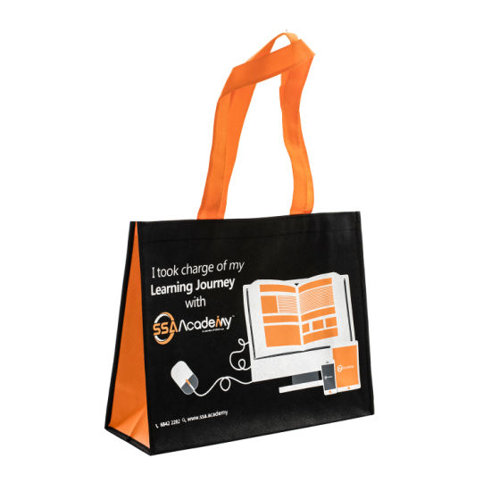 Non Woven Recyclable Shopping Tote Handle Eco Environment Friendly Biodegradable Bag