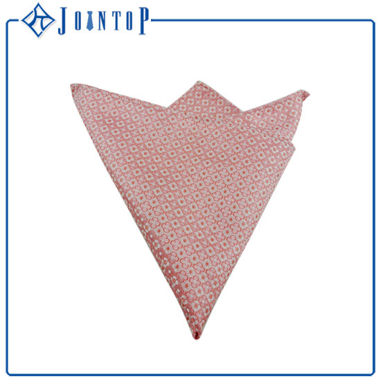 Wholesale Custom 100% Men Silk Handkerchief/Pocket Square with Your Brand Label pictures & photos