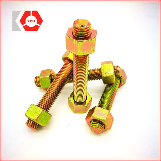 ASTM A193-B7 Alloy Steel Threaded Rods /Stud Bolt