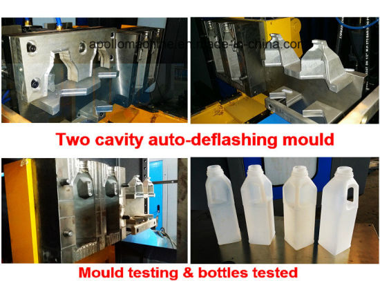 0.1L~5L HDPE/LDPE/LLDPE PP Bottles Gallons Extrusion Blow Molding Machine Market pictures & photos