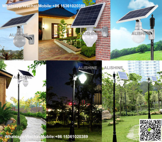 Solar Power Security Street Garden Light for Wall Mounting Outdoor pictures & photos
