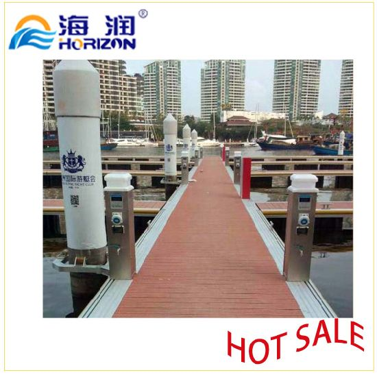Water Power Pedestal Device for Floating Dock/ Marina pictures & photos