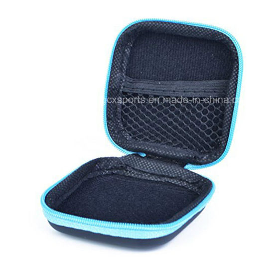EVA Earphone Pouch Bag with Internal Mesh Pocket pictures & photos
