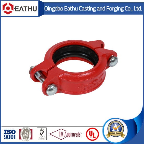 Ductile Iron Grooved 995 Couplings Used for HDPE Pipes pictures & photos