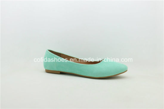 New Design Classic Flat Ballerina Lady Pump Shoes pictures & photos