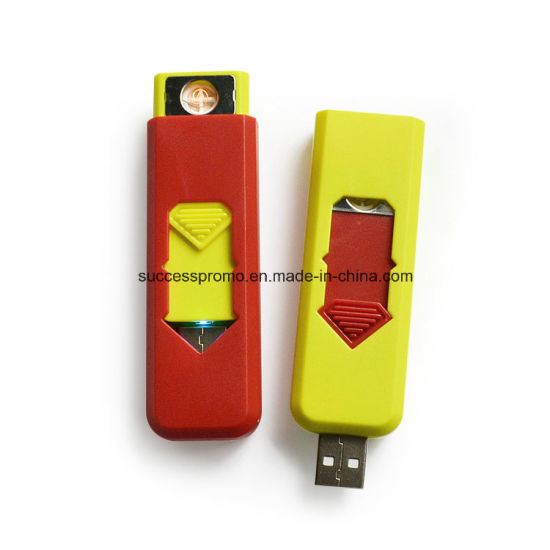 Inovative Superman Hot-Selling USB Rechargeable Lighter