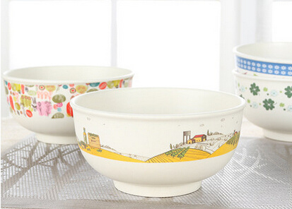 SGS Approved Eco Bamboo Fiber Kitchenwareware Bowl (YK-B3005) pictures & photos