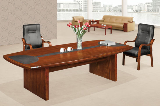 Antique Design Office Furniture Solid Wood Conference Table pictures & photos