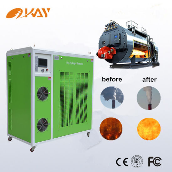 High Effeciency Hho Gas Boiler Combustion Fuel Saving Hydrogen Generator pictures & photos